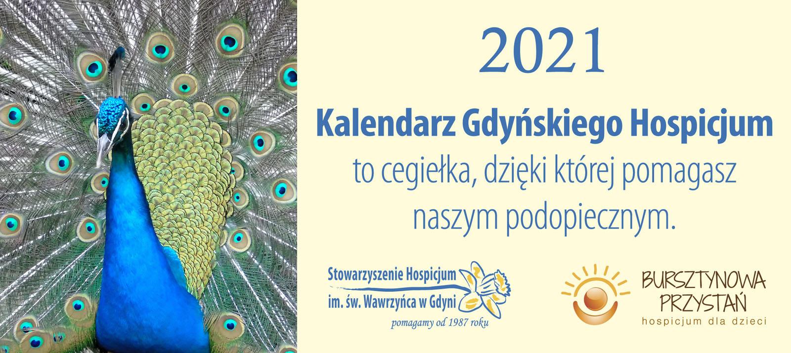 KALENDARZ GDYŃSKIEGO HOSPICJUM 2021